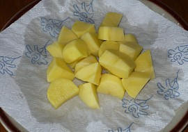 Brambory vařené v mikrovlnce recept
