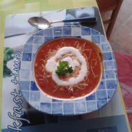 Rajská polévka v italském stylu recept
