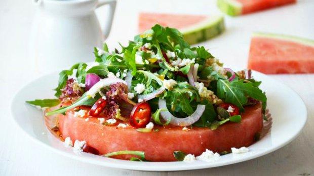 Pikantní melounový salát