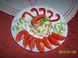 Salát z těstovin a syrové zeleniny recept