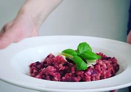 Pohankové rizoto s červenou řepou recept