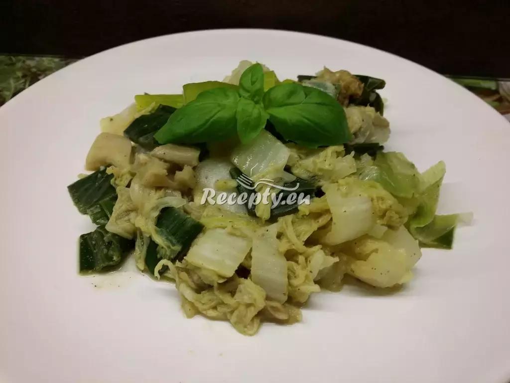 Pórkovo-cuketový salát recept  saláty