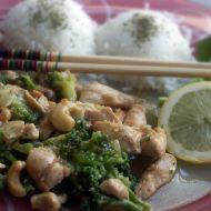 Kuřecí maso s brokolicí a medem recept