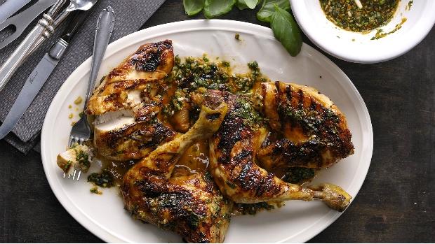 Grilované kuře Grand Marnier