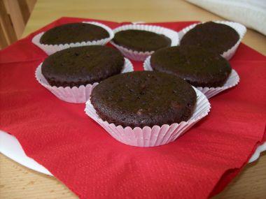 Čokoládové muffiny z podmáslí