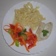 Kuřecí plátek s pikantní omáčkou recept