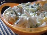 Kedlubnový míchaný salát recept