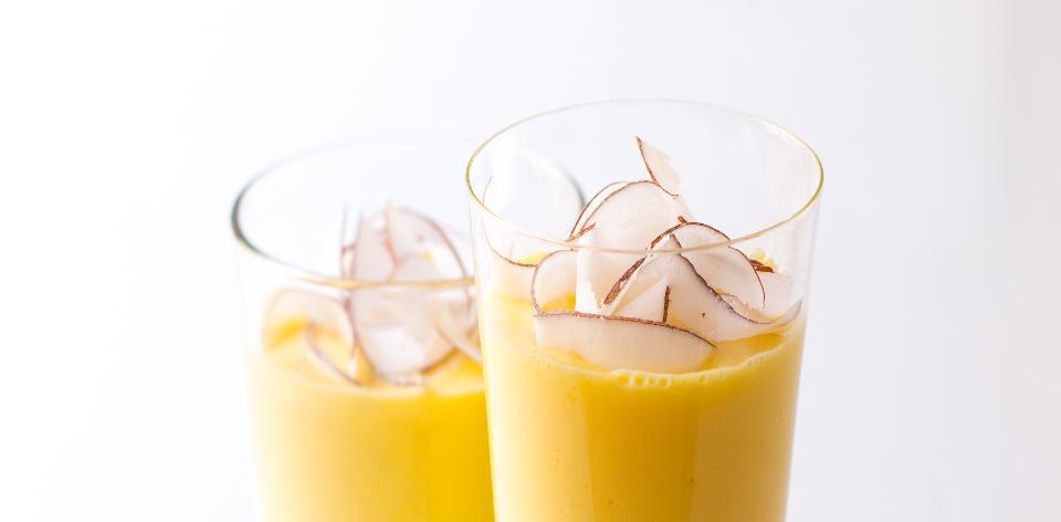 Mangovo-jogurtové smoothie