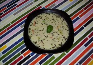 Mexická zeleninová polévka