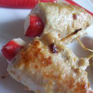 Kuřecí závitky s krabí tyčinkou recept