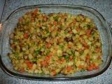 Pečené brambůrky se zeleninou recept