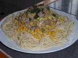 Špagety se sledi recept
