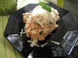 Rajčatovo lilková rýže recept