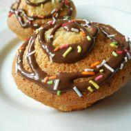 Šlehačkové muffiny s čokoládou recept