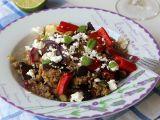Quinoa s pečenou zeleninou a balkánským sýrem recept ...
