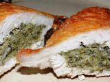Krůtí plátek s mangoldovou náplní recept