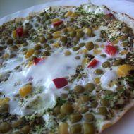 Bílková zeleninová omeleta recept