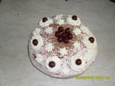 Schwarzwaldský višňový dort