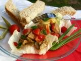 Pikantní salát z hovězího masa recept