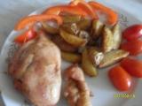 Plněná kuřecí prsa v rukávu na pečení recept