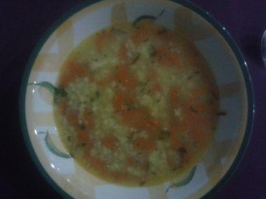 Výborná rychlá polévka z vaječné jíšky