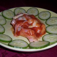 Červené kuře z alobalu recept
