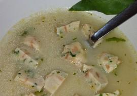 Chlebové knedlíčky s medvědím česnekem  do polévky recept ...