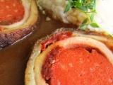 Vepřová roláda pomodoro na tymiánu recept