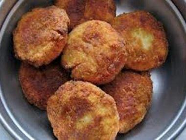Karbanátky z brambor a pórku, podle babičky