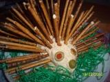 Tvarohovo-sýrový ježek recept