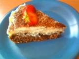 Kakaový koláč s pudingem a kysanou smetanou recept ...