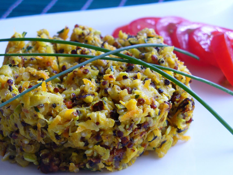 Cuketa s quinoou recept