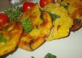 Křehké chřestovo  špenátové placičky recept