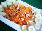 Banánovo-jablkovo-mrkvový salát recept