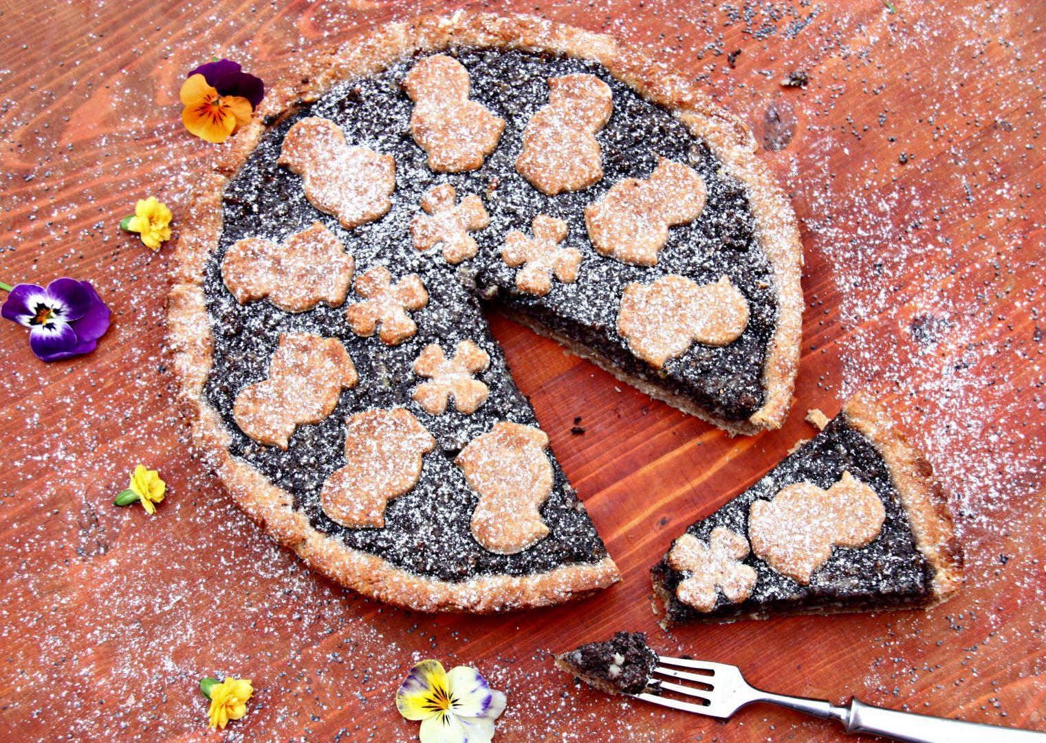 Celozrnný makový koláč recept