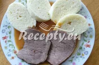 Hovězí se šípkovou omáčkou recept  hovězí maso