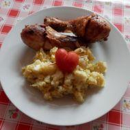 Květákový mozeček s kuřetem recept