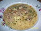 Zeleninová polievka so sójovými kockami recept