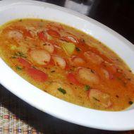 Frankfurtská polévka s párky a bramborem recept