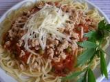 Špagety se sójovým masem recept