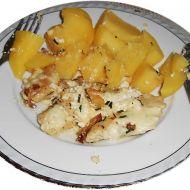 Kuřecí prsa pečená se sýrem a šlehačkou recept