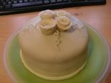 Malý dortík  můj první potahovaný recept