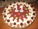 Griliášový dort recept
