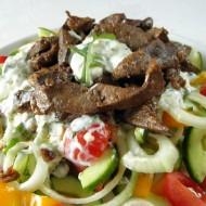 Vepřová játra na čerstvé zelenině recept