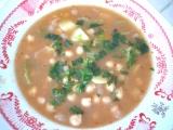 Cizrnová polévka s řapíkatým celerem recept