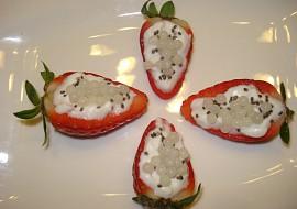Šnečí kaviár s jahodami recept