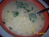 Celerová polévka se zakysanou smetanou recept