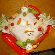 Slaný tvarůžkový nepečený dort recept