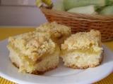 Cuketový koláč s drobenkou recept
