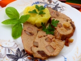 Vepřová kýta se sardelkami recept
